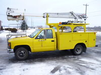 Camion Nacelle Telelift 1992 Chevrolet Cheyenne