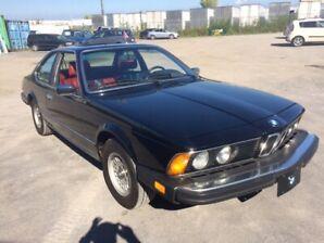 RARE 1983 BMW 633CSI