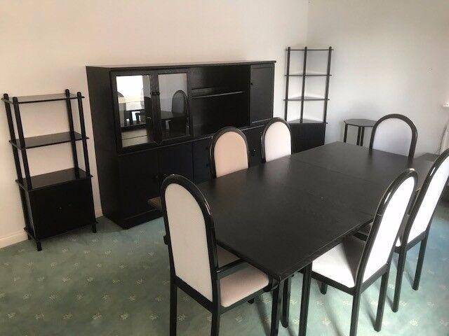Black Ash Dining Room Furniture | in Consett, County Durham | Gumtree