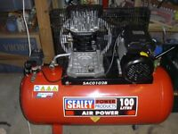 Sealey 2hp compressor ( as new)