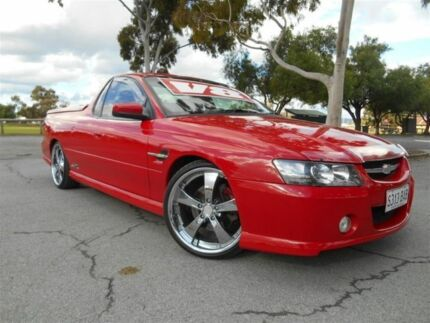 2005 Holden Commodore VZ SSZ Red 4 Speed Automatic Utility