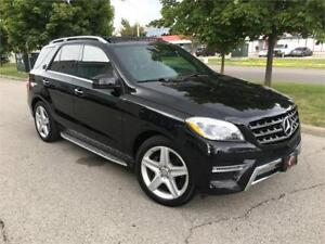 2015 MERCEDES BENZ  ML350*AMG PKG*NAVI*360CAM*PANO*NO ACCIDENTS