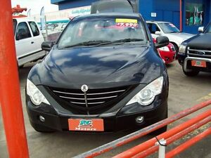 2007 Ssangyong Actyon 100 Series XDi Black 4 Speed Automatic Wagon Capalaba West Brisbane South East Preview