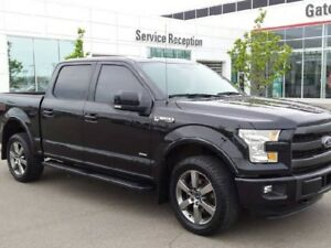 2015 Ford F-150 Lariat 4x4 SuperCrew 3.5L Ecoboost Navi, Leather