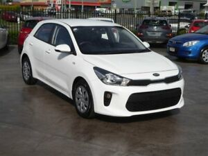 2018 Kia Rio YB MY18 S White 4 Speed Automatic Hatchback Brendale Pine Rivers Area Preview