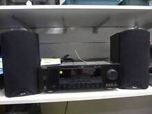 SALE! 2x Klipsch 75w Speakers with Yamaha 240w Amp AWESOME sound Merrylands Parramatta Area Preview