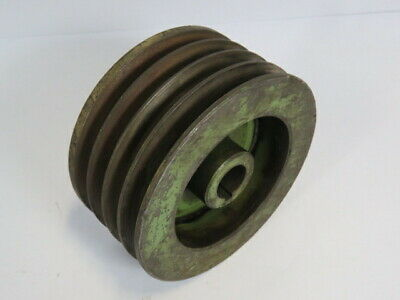 Generic V-belt Pulley 34uid 78lid 4 Groove 12p 5-58od Used
