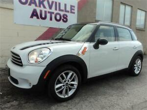 2011 MINI Cooper Countryman MANUAL PANORAMIC ROOF SAFETY INCL