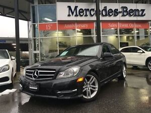 2014 Mercedes-Benz C-Class 4MATIC Sedan