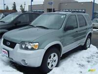 2007 Ford Escape XLT AWD 3.0L V6 Rare Colour Certifed $5,995+Tax