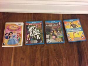 Various WiiU Games For Sale
