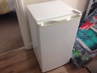 Fridge with small freezer compartment, very good condition, suit small flat/caravan