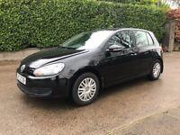 2012 Volkswagen Golf S 1.6 TDI 5 Door **Black, No VAT**