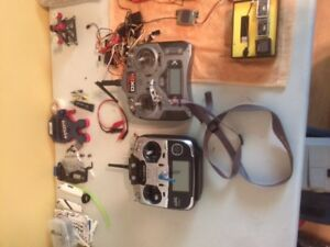 Getting out of hobby RC helicopters  and parts for sale