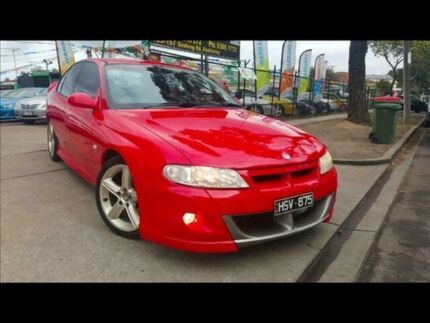 2002 Holden Special Vehicles Clubsport Vxii VXII 4 Speed Automatic Sedan Footscray Maribyrnong Area Preview