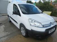 Citroen Berlingo 1.6 HDI 850Kg X 90PS DIESEL VAN DIESEL MANUAL WHITE (2014)