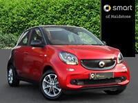 smart forfour PASSION (red) 2016-09-05