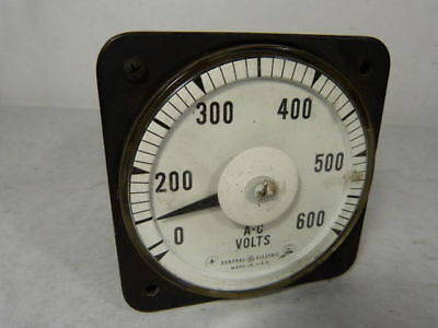 Yokogawa 8ab-18v3an1 Volt Meter 60 Cycles 600v Used