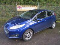 Ford Fiesta 1.25 Zetec 5DR (blue) 2014