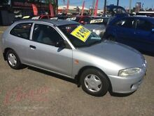 1998 Mitsubishi Mirage CE Silver 5 Speed Manual Hatchback Lansvale Liverpool Area Preview