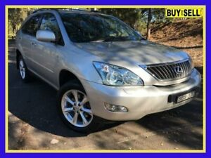 2007 Lexus RX350 GSU35R MY07 Sports Luxury Silver Sports Automatic Wagon Lansvale Liverpool Area Preview