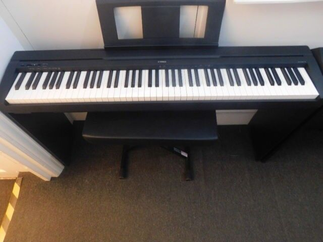 yamaha p45 digital piano bundle mint condition only used a couple of times in huddersfield. Black Bedroom Furniture Sets. Home Design Ideas