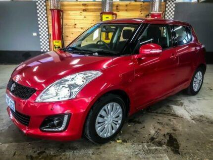 2015 Suzuki Swift FZ MY14 GL Red 4 Speed Automatic Hatchback Fyshwick South Canberra Preview