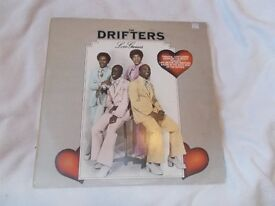 Vinyl LP The Drifters – Love Games