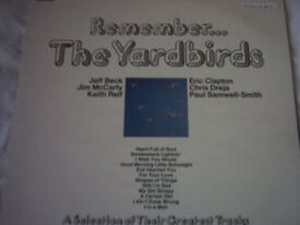 Vinyl LP Remember The Yardbirds Starline SRS 5069 Stereo