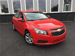 REDUCED  2014 Chevrolet Cruze LT only 107 Bi-weekly tax in