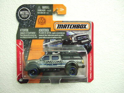 Matchbox 2018 MB54 (MW-1027) Ford F-350 Superduty, on RARE short card comprar usado  Enviando para Brazil