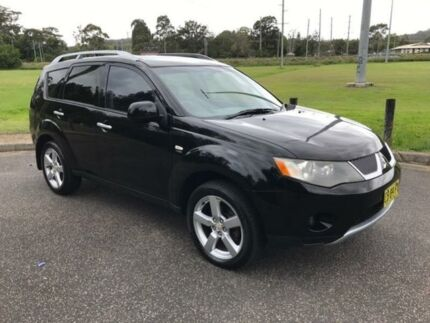 2007 Mitsubishi Outlander ZG MY08 LS (7 Seat) 6 Speed CVT Auto Sequential Wagon West Gosford Gosford Area Preview
