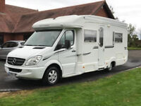 amazing luxurious mercedes motorhome 2.1 litre