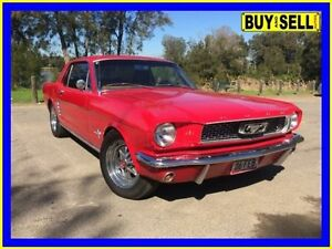 1966 Ford Mustang Red 3 Speed Automatic Hardtop Lansvale Liverpool Area Preview