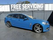 2014 Holden Commodore VF MY14 SV6 Sportwagon Storm Blue 6 Speed Sports Automatic Wagon Old Reynella Morphett Vale Area Preview