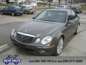 2008 Mercedes Benz E-30 4Matic 2 sets of tires-3 year warranty!