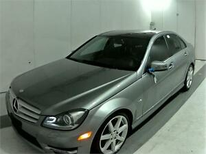 2012 MERCEDES BENZ C350 4MATIC NAVIGATION CAMERA 63KM PANO ROOF