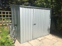 Garden Shed 6 months old - Zinc Metal Shed like NEW