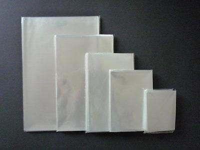 100 Stk, PP-Flachbeutel,Klarsichthülle,Folienbeutel CellophantüteTransparent