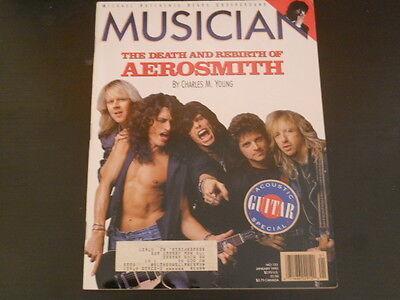 Aerosmith  Michael Hutchence  Nrbq   Musician Magazine 1990