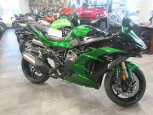 The all new Ninja H2 SX SE has arrived at Coopers Motorsports.
