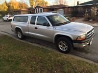 2004 Dodge Dakota Pickup Truck with Winter Tires and Tow