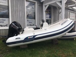 For Sale: 12' AB Centre Console Dinghy with 40 HP Mercury Engine