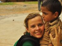 Social work with physically & mentally challenged kids in India