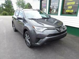 2017 Toyota RAV4 LE AWD for $213 bi-weekly all in!