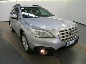 2016 Subaru Outback MY16 2.0D Silver Continuous Variable Wagon Albion Brimbank Area Preview