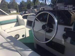 ***CHEAP CHEAP CHEAP*** 18' SUN PARTY PONTOON WITH 40HP MERC Peterborough Peterborough Area image 5
