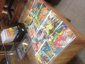 Plusieurs bd bande dessinee silver age superman action comics