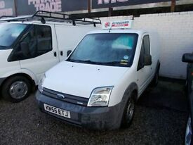 FORD TRANSIT CONNECT 1.8 T200 SWB 75 TDCI 1d 74 BHP CHEAP VAN (white) 2006