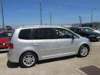 2011 11 VOLKSWAGEN TOURAN 1.6 DIESEL ***LOW MILEAGE 7 SEATER***